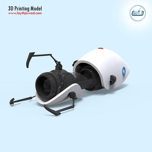 02.jpg Télécharger fichier STL Pistolet à portail • Modèle imprimable en 3D, LaythJawad