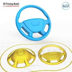 00.jpg Download STL file Steering Wheels • 3D printer model, LaythJawad
