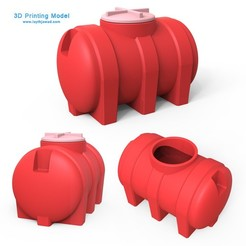 Download 3D printer designs Water Tank, LaythJawad