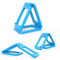 00.png Télécharger fichier 3DS Téléphone sur pied • Objet imprimable en 3D, LaythJawad