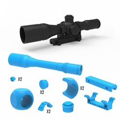 000.jpg Download 3DS file Scope 3D Printing Model • 3D printer model, LaythJawad