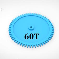 01.png Télécharger fichier 3DS Engrenage 60T • Design imprimable en 3D, LaythJawad