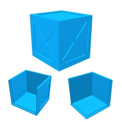 Descargar modelos 3D Caja de madera, LaythJawad