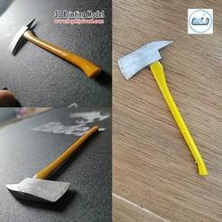 00.jpg Download 3DS file Axe • 3D printer design, LaythJawad