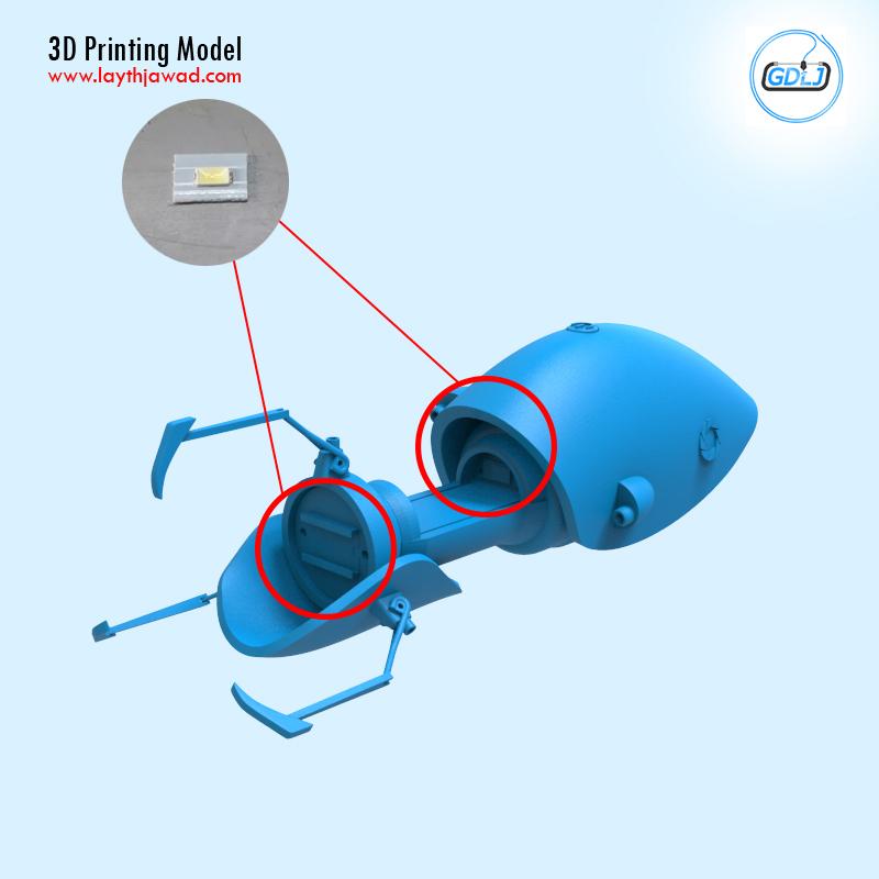 06.jpg Télécharger fichier STL Pistolet à portail • Modèle imprimable en 3D, LaythJawad