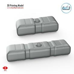 00.jpg Download 3DS file Vehicle Fuel Tank • 3D printing model, LaythJawad