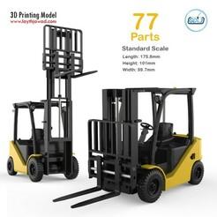 00.jpg Download STL file Clark S20 53 Forklift Truck - PRO version • 3D printer object, LaythJawad