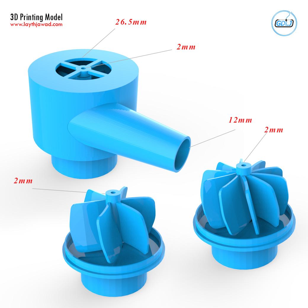 01.jpg Download STL file Water Pump • 3D print design, LaythJawad