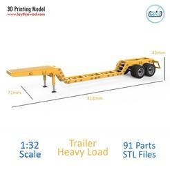 01.jpg Télécharger fichier STL Remorque lourde • Plan à imprimer en 3D, LaythJawad