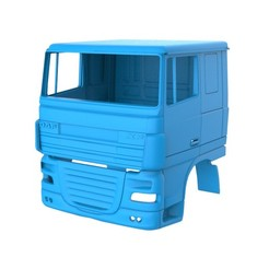 Download 3D printer designs DAF XF 105 Cabin 3D Printing Model, LaythJawad