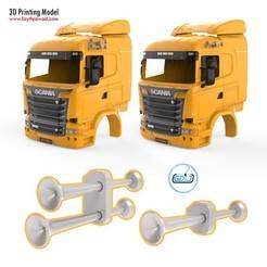 01.jpg Download STL file Truck Horn • 3D print model, LaythJawad