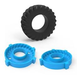 00.jpg Télécharger fichier 3DS Moule pour pneus lourds • Objet pour impression 3D, LaythJawad