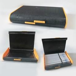 Download 3D printing designs Cigarette Cases 20 cigar, LaythJawad