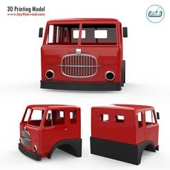 000.jpg Télécharger fichier STL Fiat 682 N4 Cabine • Plan pour impression 3D, LaythJawad