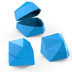 Download 3D printing templates Stone Box, LaythJawad