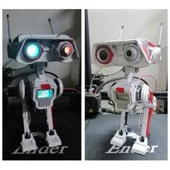 01.jpg Télécharger fichier STL JFO BD-1 Star Wars - Version pro • Objet imprimable en 3D, LaythJawad