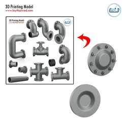 000.jpg Download STL file Pipe Assembly - New Part • 3D printable design, LaythJawad