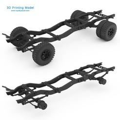 01.jpg Download 3DS file Chasis Chevy K30 • 3D printing template, LaythJawad
