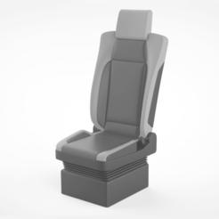 Télécharger objet 3D Structure de siège de camion, LaythJawad