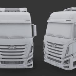 Descargar archivos 3D Cabaña Hyundai Xcient, LaythJawad