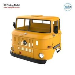01.jpg Download STL file IFA W50 Cabin - Full Professional Version • Model to 3D print, LaythJawad