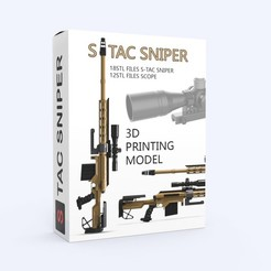 000.jpg Download STL file S-TAC Sniper • 3D printer model, LaythJawad