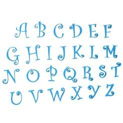 00.jpg Télécharger fichier STL Lettres anglaises • Plan imprimable en 3D, LaythJawad