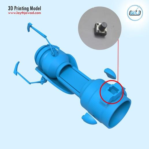 08.jpg Télécharger fichier STL Pistolet à portail • Modèle imprimable en 3D, LaythJawad