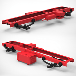 Download 3D printer templates Chassis Truck, LaythJawad