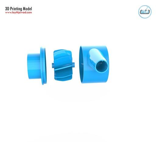 09.jpg Download STL file Water Pump • 3D print design, LaythJawad
