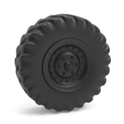 Download 3D printer designs Heavy truck wheel, LaythJawad