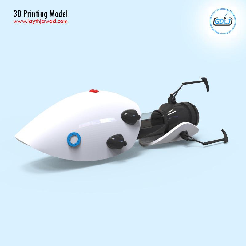 03.jpg Télécharger fichier STL Pistolet à portail • Modèle imprimable en 3D, LaythJawad