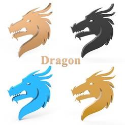 0000.jpg Télécharger fichier STL Dragon • Plan à imprimer en 3D, LaythJawad