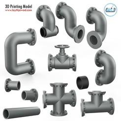 01.jpg Télécharger fichier STL Assemblage de tuyaux • Objet pour imprimante 3D, LaythJawad
