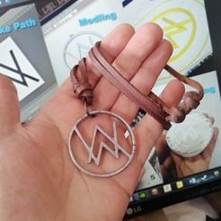 00.jpg Télécharger fichier STL Alan Walker - Collier - Médaille • Plan imprimable en 3D, LaythJawad