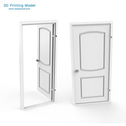 Download 3DS file Internal Door • 3D print design, LaythJawad