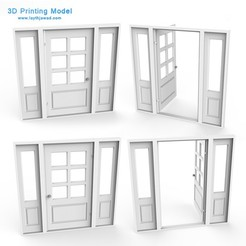 Download 3DS file External Door • 3D printer template, LaythJawad
