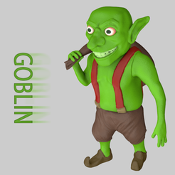3D print files Goblin Clash Of Clans Game, LaythJawad