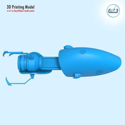 07.jpg Télécharger fichier STL Pistolet à portail • Modèle imprimable en 3D, LaythJawad