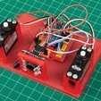 Free 3D printer designs Arduino Controlled Coloured M&M's Lolly Sorting Robot, DIYODE