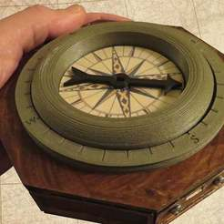 Download free STL files Arduino Based Magnetic Compass, DIYODE