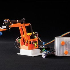 Free 3D printing templates Build Grippy. The Arduino Nano-Driven Robotic Arm - now with Smartphone control, DIYODE