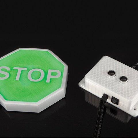Download free 3D printing templates Ultrasonic Parking Sensor, DIYODE
