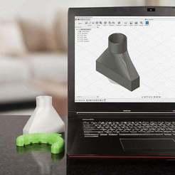 Thingiverse.jpg Télécharger fichier STL gratuit Conduit d'air du ventilateur de refroidissement - Partie 3 : Guide d'initiation à Fusion 360 • Design pour imprimante 3D, DIYODE