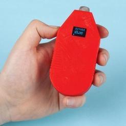 Impresiones 3D gratis Detector portátil de fugas de GLP, DIYODE