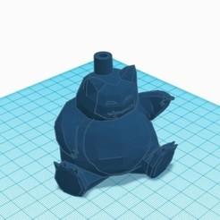 Descargar modelos 3D para imprimir boquilla shisha snorlax, mariomance8