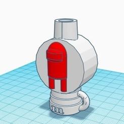 amoung us.jpg Télécharger fichier STL L'embouchure de la shisha parmi nous • Design imprimable en 3D, mariomance8