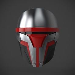 Download 3D printer templates Darth Revan's Mask, polygonplayground