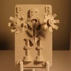 Télécharger fichier imprimante 3D gratuit Frost Trading Card, cloudyconnex
