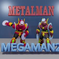 Download free STL file METALMAN from MEGAMAN2, LittleTup